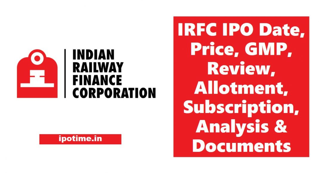 IRFC IPO Date