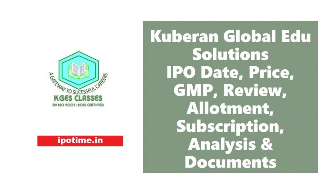 Kuberan KGES IPO